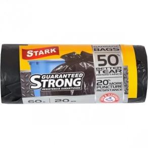 Пакети для сміття STARK 60х20