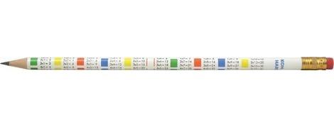 Олівець з гумкою таблиця множення