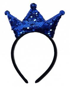 Обруч корона паєтки в асортименті. Фото 2