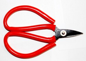 Ножиці резинова ручка малі 9641