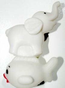 Нічник білий різні звірі. Фото 2