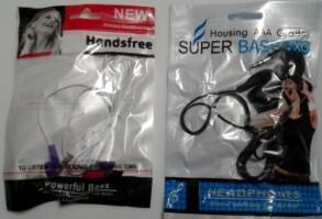 Навушники в пакеті Super Bass/NEW. Фото 2