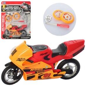 Мотоцикл інерційний 8968-1. Фото 2