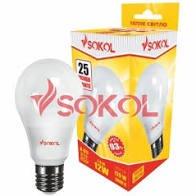 Лампочка LED SOKOL 12W E27 4100K. Фото 2