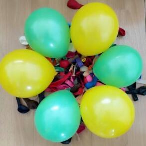 Кульки надувні в пакеті 20шт. Фото 2