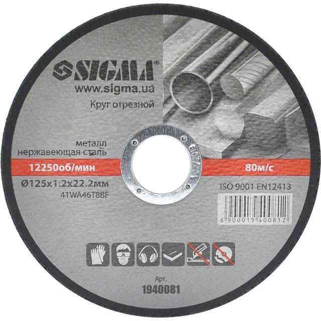 Круг відрізний Sigma 1940081