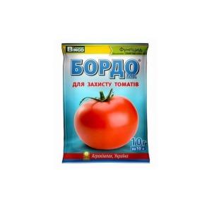 Засіб для захисту томатів БОРДО 10г. Фото 2