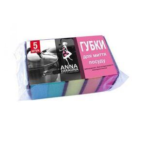 Губка для посуду 5шт Anna Zaradna. Фото 2