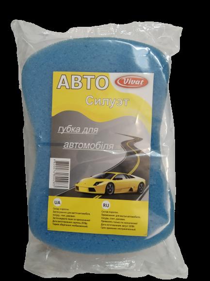 Губка для миття авто Vivat Авто Силует