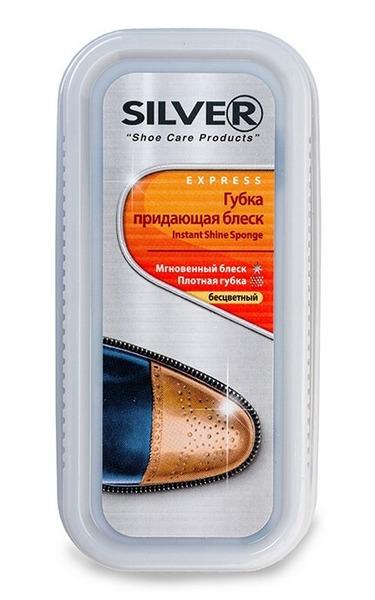 Губка для взуття Silver безколірна