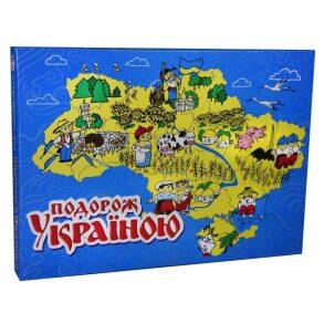 Гра настільна Подорож Україною 30457 STRATEG. Фото 2