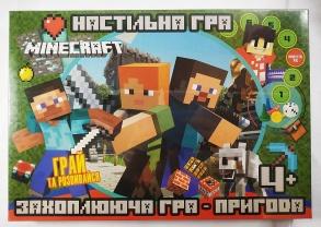 Гра настільна Minecraft G23445. Фото 2