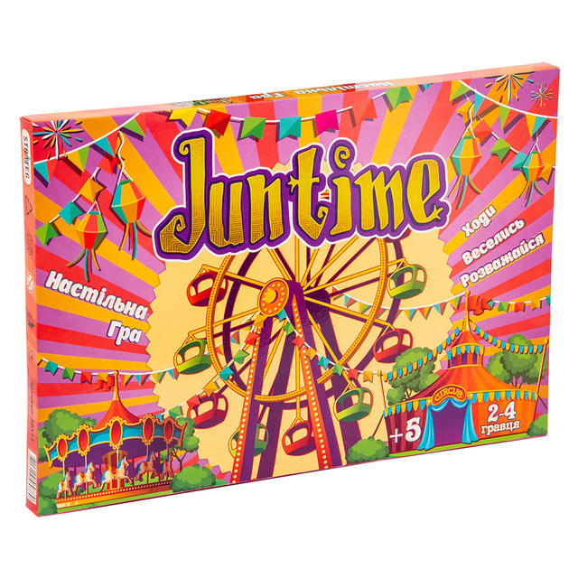 Гра настільна Jun time 30511