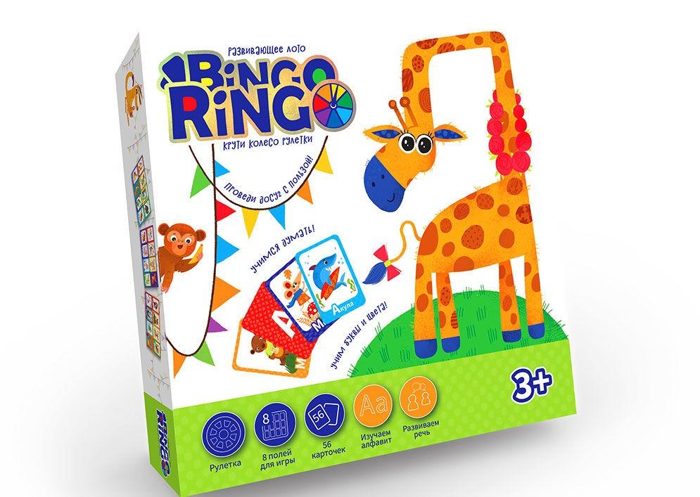 Гра настільна BINGO RINGO GBR-01-01U