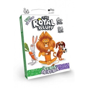 Гра карткова The ROYAL BLUFF їстівне неїстівне RBL-02-01U