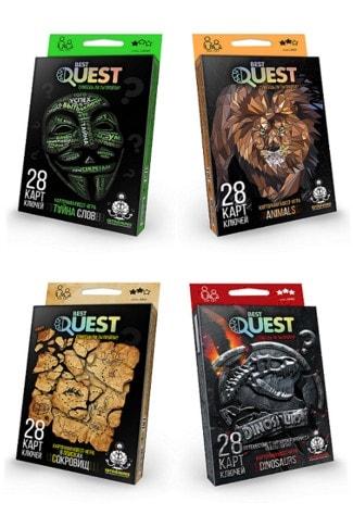 Гра карткова Best Quest BQ-01-01/04