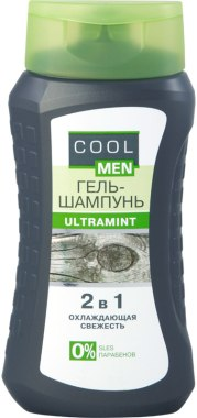 Гель-шампунь COOL MEN  2 в1 250мл