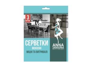 Ганчірка віскозна 3шт Anna Zaradna. Фото 2