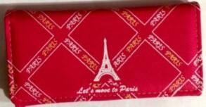 Гаманець жіночий Париж. Фото 2