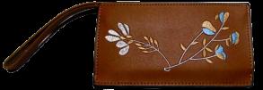 Гаманець жіночий з квіткою. Фото 3