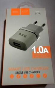 Вилка-зарядка USB Hoco С11 в коробці. Фото 3