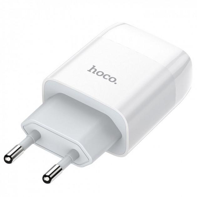 Вилка-зарядка Hoco C72A