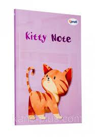 Блокнот A5 Kitty note 4P асорті