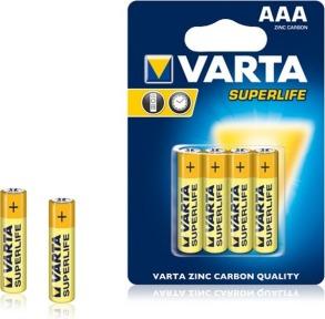 Батарейки VARTA SURERLIFE R3 4шт блістер. Фото 2