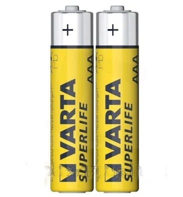 Батарейки VARTA SURERLIFE R3 2шт в плівці