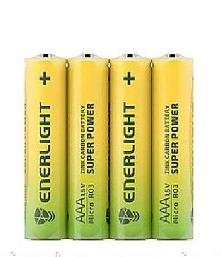 Батарейки ENERLIGHT SUPER POWER R3 4шт плівка