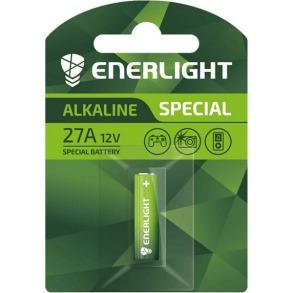 Батарейки ENERLIGHT SPECIAL Alkaline 27A 1шт. Фото 2