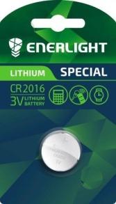 Батарейка таблетка ENERLIGHT Lithium CR2016. Фото 2