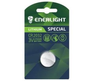 Батарейка ENERLIGHT CR2032 1шт