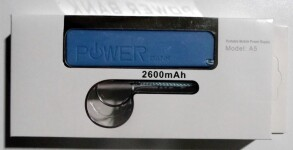 Power Bank 2600. Фото 3