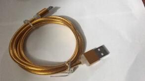 Шнур для зарядки Android силікон. Фото 2