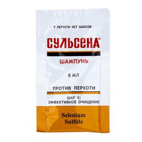 Шампунь Сульсена Проти лупи 8мл. Фото 2