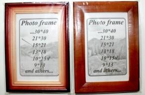 Фоторамка дерев'яна 10х15. Фото 2