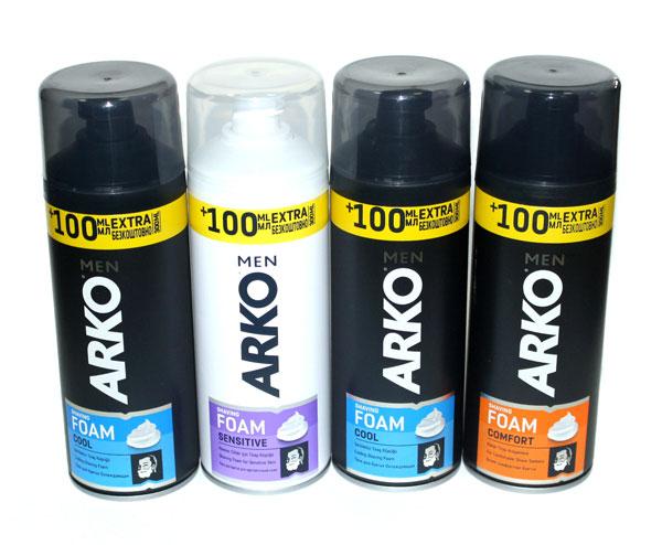 Піна для гоління ARKO MEN COOL 300мл