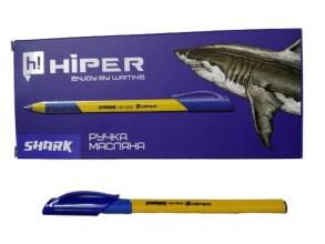 Ручка синя Hiper Shark HО-200. Фото 2