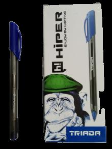 Ручка синя Hiper TRIADA HG-205