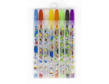 Ручки гелеві кольорові 8шт 023132