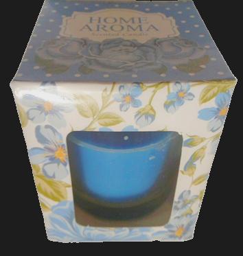 Свічка ароматна в стаканчику міні 0650