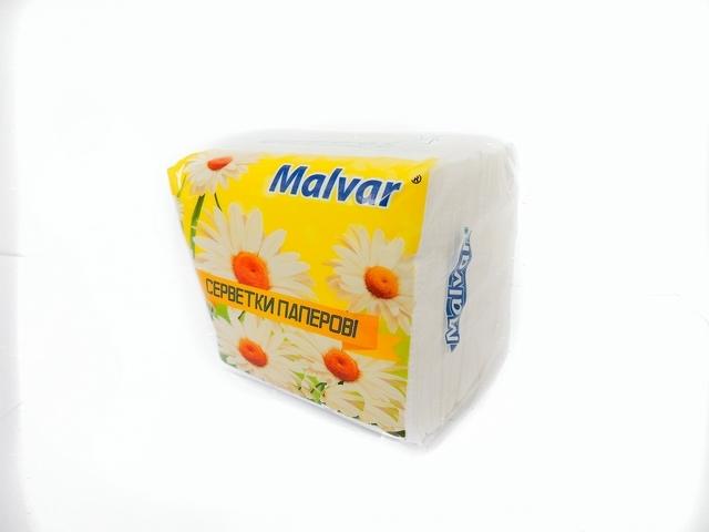 Серветки столові Malvar 200шт