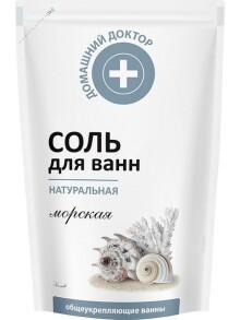 Сіль для ванни Домашний Доктор Натуральна 500г. Фото 2