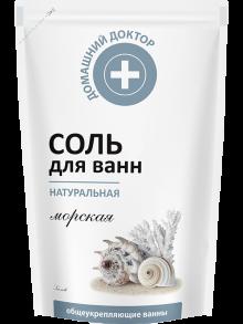 Сіль для ванни Домашний Доктор Натуральна 500г