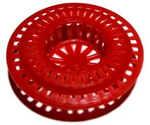 Сітка в умивальник кругла пластик