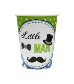Стаканчики Little man F080828. Фото 2