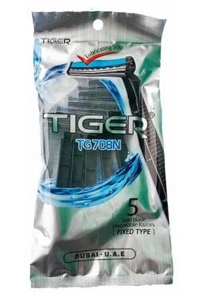 Станок для бриття Tiger 5шт