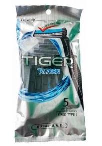 Станок для бриття Tiger 5шт. Фото 2