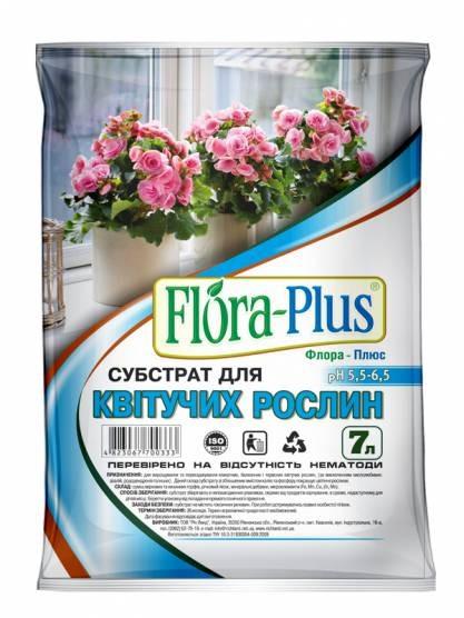 Субстрат для квітучих рослин 7л Flora-Plus